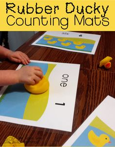 Ducky Counting Mats Game | Line upon Line Learning