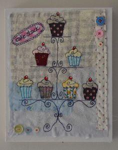 Cake stack   Su Parkes Machine Embroidery, Sewing, Cake, Dressmaking, Couture, Stitching, Kuchen, Sew, Torte