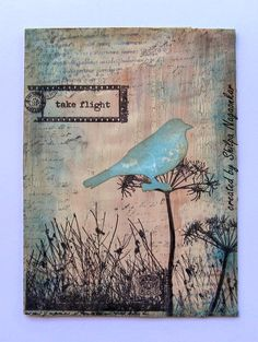 Neon Diary: Take flight - Paper Artsy