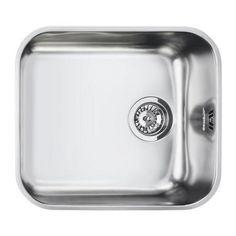 Smeg UM45 Alba Undermount Single Bowl Stainless Steel Sink   Appliances Direct