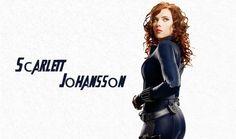 驚異のアベンジャーズの映画の中でスカーレット ・ ヨハンソン