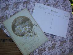 Vintage Postcards  Daisy Postcards by JMFindsandDesigns on Etsy