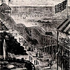 On June 16, 1884, Thompson's Switchback Railway (the first roller coaster in America) opens at Coney Island.