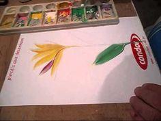 Atendendo ao pedido da amiga Ines Perez, regravamos este vídeo, para que se possa ver com mais clareza a execução deste trabalho de pintura gestual. Este tra...