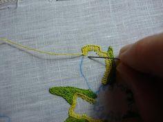 Ruth O'Leary Arte Textil: Ojal de puntada