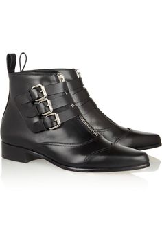 Tabitha Simmons|Early leather ankle boots