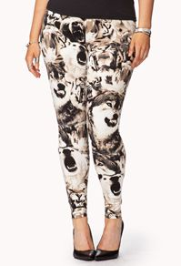 Roaring Tiger Leggings - Women's Plus Size Clothing at Forever 21+