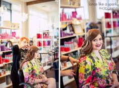 beautiful bride, getting ready, hair done, hair stylist, makeup artist, plum salon, lancaster weddings, bright and beautiful, cute robe :: Sarah + Brian's Wedding at Cork Factory Hotel in Lancaster, PA :: with Nikki + Graham -- @Cork Factory Hotel