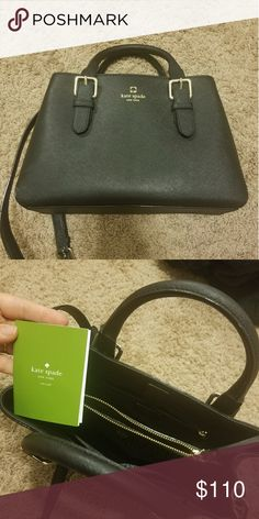 Kate Spade crossbody handbag Perfect condition, haven't used once. Got two purses last Christmas and have only reached for the other one. Black color, about a medium sized purse. kate spade Bags Crossbody Bags