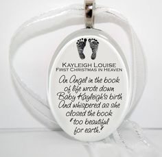 Baby+Foot+Prints+Glass+Christmas+Ornament+by+bugaboojewelry,+$12.00(Jessica Ross-Jones=I pinned this for you <3)