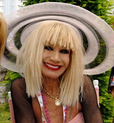 May the Fashion gods have mercy on me for what Im about to say but, Betsey Johnson, your chest is why I wear sun screen. not your fault you survived the 70s and 80s tan years but lord have mercy thats enough to make me buy stock in Coppertone