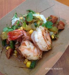 Shrimp and Grits from the Epcot Flower and Garden Festival Outdoor Kitchens