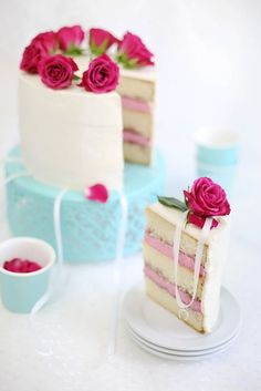 Sprinkle Bakes: Raspberry-Champagne Layer Cake with Victorian Cake Pulls