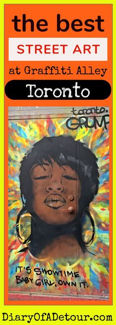 Graffiti Alley is a canvas for street artists to legally produce stunning artwork in the heart of the Fashion District in Toronto. Here are some amazing examples of their work. Cool Places To Visit, Places To Go, Best Street Art, Toronto Life, Secret Places, Street Artists, Canada Travel, Travel Guides, Murals