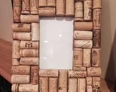 Upcycled Cork Picture Frame 4x6