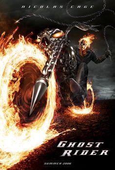 Ghost Rider (2007) Nicholas Cage, Eva Mendes,  Peter Fonda, Sam Elliott. 17/09/2008