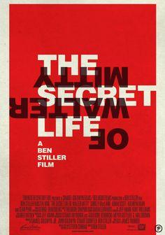 The Secret Life of Walter Mitty on Behance Secret Life, The Secret, James Thurber, Life Of Walter Mitty, Ben Stiller, Sean Penn, Best Actor, Friends Family, Films