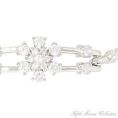 Bridal Bracelet - A Box of Flowers- Fifth Avenue Collection :: Beautiful Jewellery :: We Create Beauty and Success Fifth Avenue Collection, Jewelry Show, Bridal Bracelet, Bridal Jewellery, International Fashion, Statement Jewelry, Bridal Collection, Summer Wedding, Fashion Jewelry