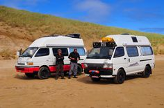 Toyota Hiace 4x4 campers by Bloodred