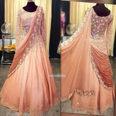 Gowns – Page 2 – Ricco India Simple Pakistani Dresses, Simple Gowns, Indian Gowns Dresses, Indian Gown Design, Dress Indian Style, Desi Wedding Dresses, Indian Wedding Outfits, Bridal Dresses, Engagement Gowns