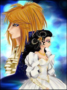 Jim Henson Labyrinth, Anime Wedding, Jennifer Connelly, Princess Zelda, Manga, Wedding Dresses, Fictional Characters, Art, Bride Dresses