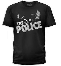 71a541e489abfc Buy Police Zenyatta Redux T-Shirt-PLC0032-101BLK | Free Shipping... Band  TeesThe Police BandGoodie Two SleevesRetro ...