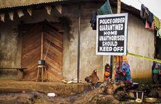 STOP EBOLA IN WEST AFRICA / SIERRA LEONE