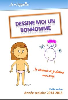 Le cahier du bonhomme - Le jardin d'Alysse Petite Section, Fitness Gifts, Learn French, Pre School, Kids Learning, More Fun, Montessori, Activities For Kids, Homeschool