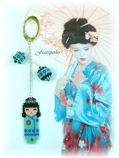 kokeshi turquoise