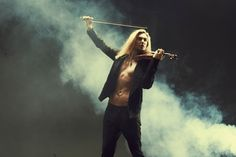 David Garrett with Mother   Review: A Gala Night With David Garrett   AT&T Performing Arts Center