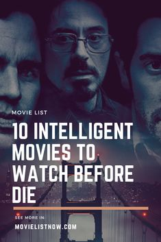 10 Intelligent Movies To Watch Before Die. #movies