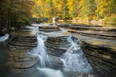 There's more than just a sea of green within Arkansas' Ozark National Forest. Some of the best waterfalls in the state are clustered in the forest! Oh The Places You'll Go, Places To Travel, Places To Visit, Vacation Destinations, Vacation Spots, Vacation Ideas, Weekend Trips, Day Trip, Arkansas Waterfalls