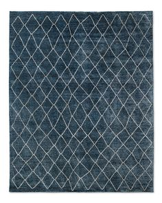 21) Arlequin Rug in Navy, 8 x 10, $5215 + 15% off, Sample can be ordered.
