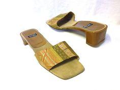 Stuart Weitzman gold-tone sandals