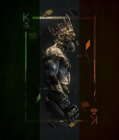 """King"" Conor McGregor art by Conor Mcgregor Wallpaper, Mcgregor Wallpapers, Dark Fantasy, Fantasy Art, Black And Gold Aesthetic, Sculpture Art, Sculptures, Or Noir, Hypebeast Wallpaper"