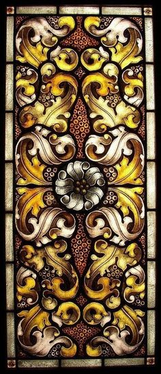 Acanthus William Morris Stained Glass