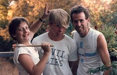 Tre Cool Kain Kong & Larry Livermore (THE LOOKOUTS!) c.1985 - Tre (pictured here at 12 yrs old) would become the drummer for Green Day. Larry would go on to form the iconic Lookout! Records launching the careers of Operation Ivy Rancid Screeching Weasel The Queers Avail and Green Day.