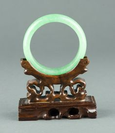 Charming Chinese Apple Green Jadeite Bangle