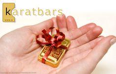 Karatbars. Lingotes de oro de 1 gramo.