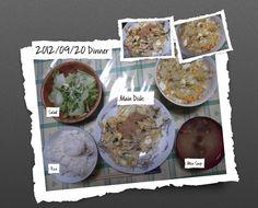 For Dinner on 20/Sep/2012