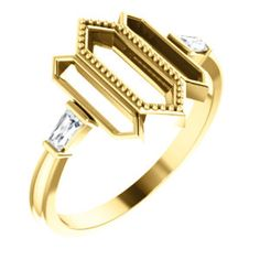 Diamond Geometric Ring   Click through for product details OR to locate a jeweler near you! Silver Jewelry, Fine Jewelry, What's Trending, Bangles, Bracelets, Fashion Forward, Jewels, Diamond, Rings
