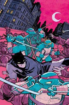 Plusieurs variant covers pour Batman/TMNT   DCPlanet.fr