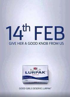 lurpak valentine's day ad