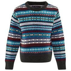 Barbour Fair Isle Crew Neck Jumper | Christmas | AlexandAlexa
