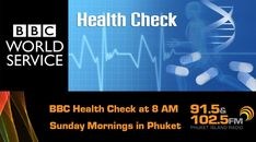 BBC Health Check is the start of four morning shows, direct from the BBC in London Bbc Health, Health Care, Birmingham University, Bbc World Service, Mental Health Day, Better Music, Morning Show, Online Checks, Internet Radio