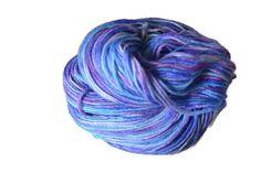 Hand Dyed Sock Yarn Knitting Crochet Yarn by KookaburraYarns