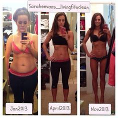 Pure fitness inspiration! Jamie Eason's LiveFit Trainer Program (Clean eating + fitness) = results for Sarah Evans. My goal #fitfashion
