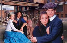 "Road to Avonlea. I remember watching this on the ""Canadian channel"" when I was little. Loved channel 9. :)"