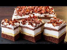 Aceasta prajitura are un secret - provoaca dependenta! Sweets Recipes, Cake Recipes, Cooking Recipes, Food Cakes, Pudding Vanille, Romanian Desserts, Cheesecake, Bulgarian Recipes, Cake & Co