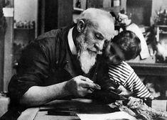 Victor Prouvé  (1856-1943)   Il est le grand animateur du mouvement. Son éclectisme lui ouvre tous les champs d'expression des arts appliqués : reliure, gravure, sculpture, joaillerie, illustration, marqueterie... http://www.ecole-de-nancy.com/web/index.php?page=victor-prouve